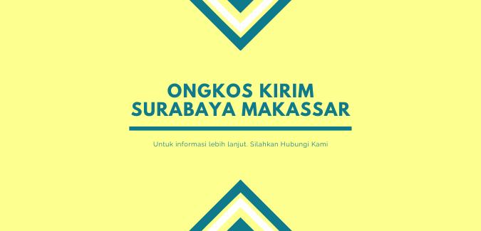 Ekspedisi Surabaya Makassar